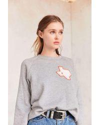 Project Social T | Gray Texas Pullover Sweatshirt | Lyst
