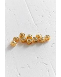Regal Rose - Metallic Sunflower Hair Bead Set - Lyst