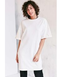 Silence + Noise   White Buster Cocoon Tee Dress   Lyst