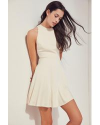 Silence + Noise - Natural Mckayla Fit + Flare Dress - Lyst