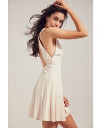 Silence + Noise | Natural Mckayla Fit + Flare Dress | Lyst