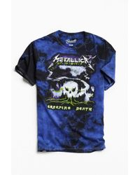 Urban Outfitters | Purple Metallica Creeping Death Dye Tee for Men | Lyst