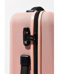 Herschel Supply Co. | Pink Trade Large Hard Shell Luggage | Lyst