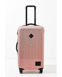 Herschel Supply Co. - Pink Trade Large Hard Shell Luggage - Lyst