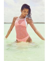 Out From Under - Pink Double Dutch One-piece Swimsuit - Lyst