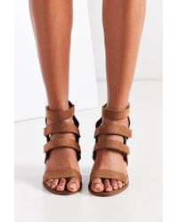 Urban Outfitters - Natural Strappy Heel - Lyst