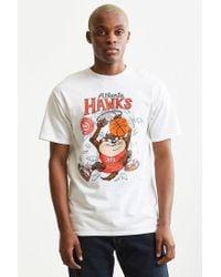 Junk Food - White Looney Tunes Atlanta Hawks Tee for Men - Lyst