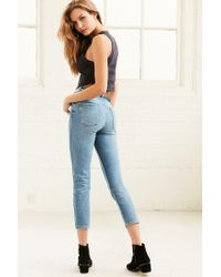Kimchi Blue - Black Oh Baby Cropped Tank Top - Lyst
