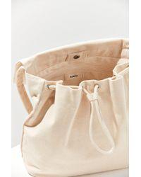 Baggu - White Canvas Shoulder Bag - Lyst