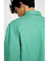 Levi's Green Spring Mint Denim Trucker Jacket for men
