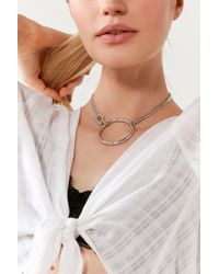Five And Two - Metallic York Choker Necklace - Lyst