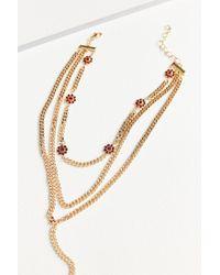 Frasier Sterling - Red Margarita Lariat Layering Necklace - Lyst
