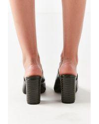 Urban Outfitters - Green Mod Mule Heel - Lyst