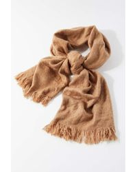 Urban Outfitters Multicolor Cozy Brushed Scarf
