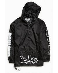 Urban Outfitters Black Ariana Grande Zero Anorak Jacket for men