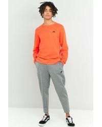 Nike Gray Cropped Carbon Tech Fleece Joggers for men