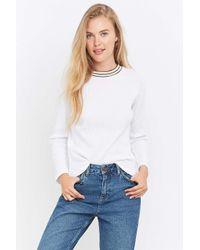 BDG Blue Frankie Boyfriend Flannel Shirt