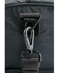 Herschel Supply Co. Gray Selected Novel Grey Crinkled Nylon Weekender Holdall Bag for men