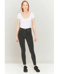 Cheap Monday   Gray High Spray On Overdyed Grey Skinny Jeans   Lyst