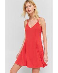 Sparkle & Fade - Pink Strappy Back Flippy Dress - Lyst