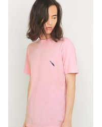 Urban Outfitters. Men's Pink Embroidered Knife ...