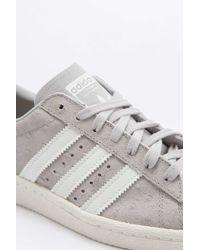 Adidas Originals Gray Originals Clear Granite Superstar 80's Trainers