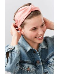 Urban Outfitters | Pink Everyday Headwrap | Lyst