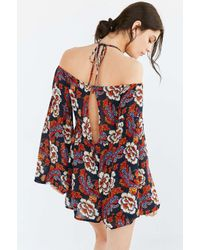 Out From Under Multicolor Dreamy Days Gauze Romper