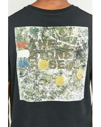 Urban Outfitters The Stone Roses Black T-shirt for men