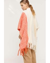 Urban Outfitters Multicolor Nubby Ruana
