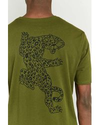 Nike - Green Dry Leopard T-shirt for Men - Lyst