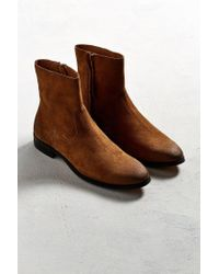 Urban Outfitters - Brown Uo Lester Western Chelsea Boot - Lyst