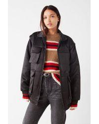 promo code 76db7 18c56 Women's Black Uo Dawson Bomber Puffer Jacket