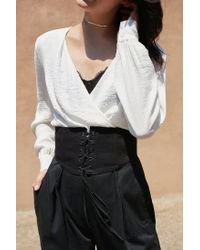 Urban Outfitters Black Coco Corset Belt