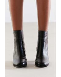 Urban Outfitters - Black Harlow Faux Leather O-ring Ankle Boot - Lyst