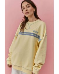Kickers Natural Striped Crew Neck Sweatshirt