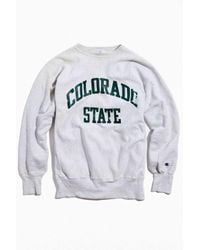 Urban Outfitters Gray Vintage Colorado State Crew Neck Sweatshirt for men