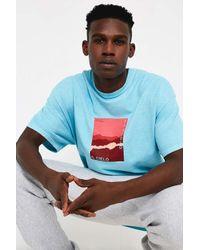 Urban Outfitters Blue Uo Il Celio Aqua T-shirt for men