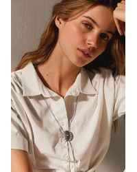 Urban Outfitters - Multicolor Turquoise Bolo Chain Necklace - Lyst
