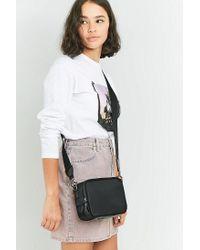 Urban Outfitters Nylon Black Zip Box Bag