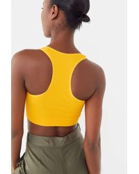 Out From Under Multicolor Olivia Ribbed Racerback Bra Top