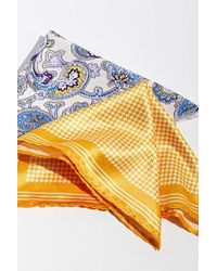 Urban Outfitters Yellow Uo Pocket Square