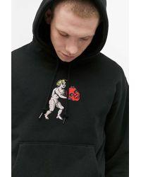 Obey Cupid Black Hoodie for men