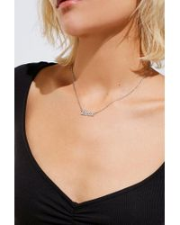 Urban Outfitters - Metallic Thrive Nameplate Necklace - Lyst