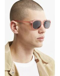 Urban Outfitters - Multicolor Rounded Square Sunglasses for Men - Lyst