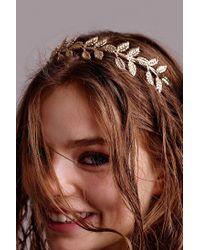 Urban Outfitters - Metallic Athena Headband - Lyst