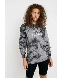 iets frans Multicolor Litter Logo Tie-dye Long-sleeve T-shirt