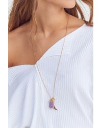 Urban Outfitters | Purple Celestial Charm Pendant Necklace | Lyst