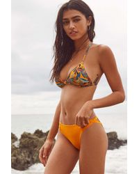 Out From Under Orange Winnie Cross-strap Bikini Bottom