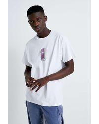 """Urban Outfitters T-Shirt """"Light"""" mit Print in White für Herren"""